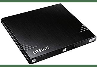 Grabadora de DVD - LiteOn eBAU108, Externa, Portátil, Negro