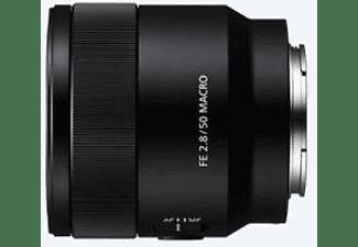 Objetivo EVIL - Sony Macro FE 50 mm f/2.8, Distancia mínima de 16 mm, 1:1, Negro