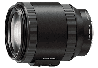 Objetivo EVIL - Sony E PZ 18-200 mm f/3.5-6.3 OSS, Estabilización de imagen SteadyShot