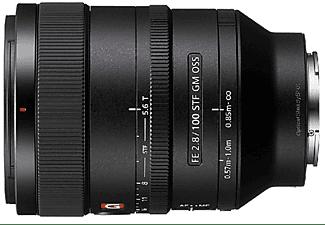 Objetivo - Sony FE 100 mm f/2.8 STF GM OSS, Teleobjetivo, Serie G Master, Negro