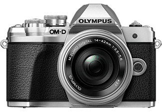 Cámara EVIL - Olympus OM-D E-M10 Mark III, 16.1 MP,4K, WiFi+ M.ZUIKO 14-42mm EZ F3.5-5.6