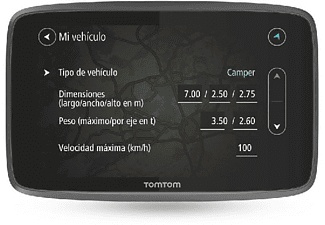 "GPS - Tom Tom GO Camper, 6"", Europa, WiFi, Negro"