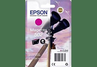 Cartucho de tinta - Epson 502, 3.3ml, 165páginas, Magenta