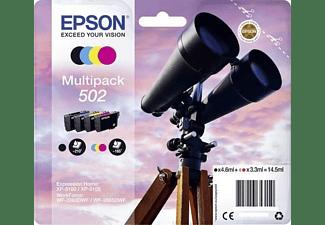 Cartucho de tinta - Epson 502, 3.3ml, 4.6ml, 210 páginas, 165páginas Negro, Cian, Magenta,