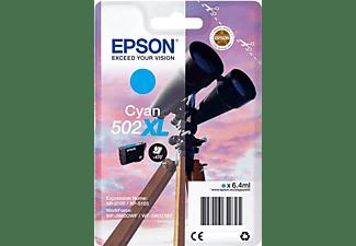Cartucho de tinta - Epson 502XL, 6.4ml, 470páginas, Cian