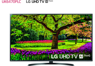 "TV LED 49"" - LG 49UK6470PLC, UHD 4K 3xHDR, Panel IPS, AI Smart TV ThinQ webOS 4.0"