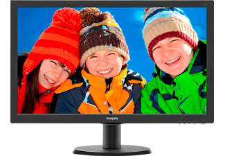 "Monitor - Philips 243V5LHAB, 23.6"", Full HD, HDMI y Altavoces estéreo"