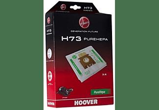Bolsas de aspirador - Hoover H73 Pack de 4 unidades, Apta para aspiradores Hoover