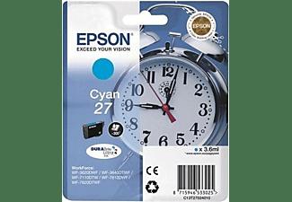 Cartucho de tinta - Epson C13T27024020 27, Cian (RF)
