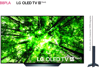 "TV OLED 55"" - LG OLED55B8PLA, UHD 4K Cinema HDR, Procesador 7, AI Smart TV ThinQ webOS 4.0, Sonido"