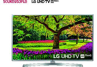 "TV LED 50"" - LG 50UK6950PLB, UHD 4K 3xHDR, AI Smart TV ThinQ webOS 4.0, Sonido DTS-X"
