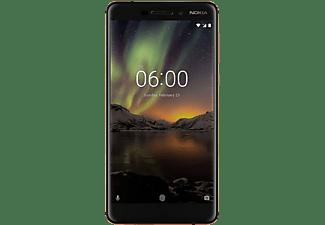 "Móvil - Nokia 6.1, Negro y cobre, 32 GB, 4 GB RAM, 5.5"", Snapdragon 630, 3000 mAh, Android"