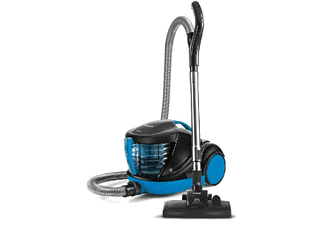 Aspirador sin bolsa - Polti Forzaspira Lecologico Aqua Allergy Turbo Care, 850W, 1l, Filtro de agua, Azul