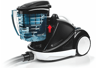 Aspirador sin bolsa - Polti Forzaspira Lecologico Aqua Allergy Natural Care, 750W, 1l, Filtro de agua, Blanco