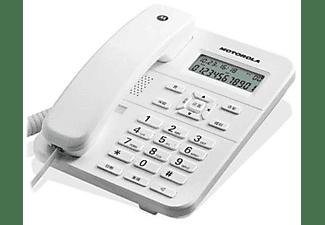 Teléfono - Motorola CT202 con Manos libres y 24 tonos de llamada, blanco