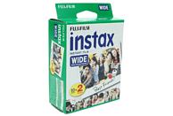 Película fotográfica - Fujifilm Instax Wide Film, 20 hojas