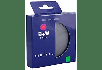 Filtro - B+W 67mm Polarizador Circular Estándar, Negro