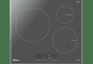 Encimera - Balay 3EB965AU, Vitrocerámica, Eléctrica, Inducción, 3 zonas, 28 cm