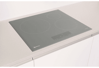 Encimera - Balay 3EB865AQ, Inducción, Eléctrica, 3 zonas, 28 cm, Gris antracita