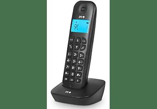 Teléfono - SPC 7300 New Air Single Black, Agenda 50 nombres, Rellamada, Identificación de llamada