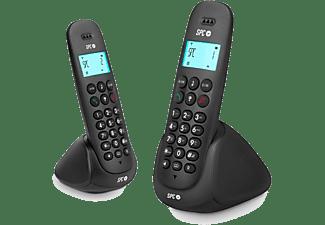 Teléfono inalámbrico - SPC DECT ART DUO, Identificador de llamadas, Manos Libres, Agenda 20