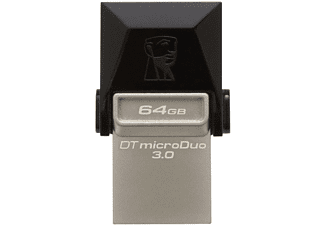Pendrive 64GB - Kingston DataTraveler microDuo 64GB, USB 3.0