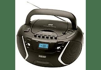 Radio con CD - Daewoo DBU 51, Negra