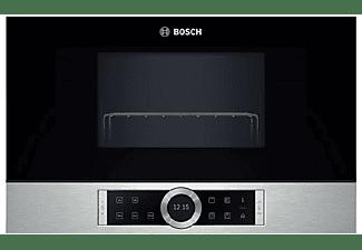 Microondas integrable - Bosch BER634GS1, 21 litros, Base de cerámica, 5 niveles de potencia