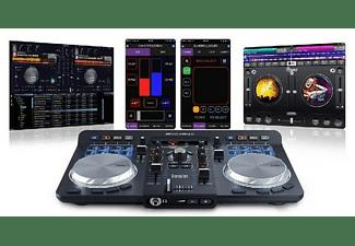 Controladora DJ - Hercules Universal DJ, Bluetooth, Android, IOS, Pc y Mac