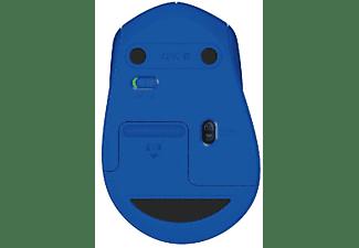 Ratón Wireless - Logitech M280, azul, inalámbrico, autonomía de 18 meses