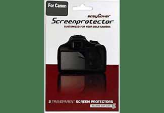 Protector pantalla - Easycover SPCM, compatible con Canon EOS M, 2pieza(s), Transparente