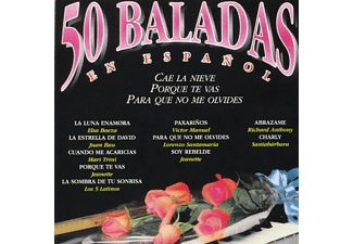 50 Baladas en español Vol.1 - CD
