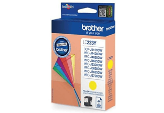Cartucho de tinta - BROTHER LC223YBP AMARILLO