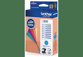 Cartucho de tinta - BROTHER LC 223 CBP CYANDCPYMFCJ4