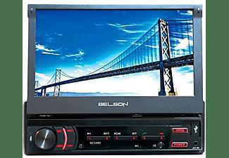 "Autorradio - Belson STL5705KML, 1 DIN, Pantalla táctil 7"", 40 W, Manos Libres, Bluetooth, USB, SD,"