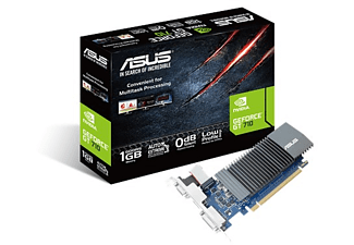 ASUS GeForce® GT 710 1GB (90YV0AL0-M0NA00) (NVIDIA, Grafikkarte)