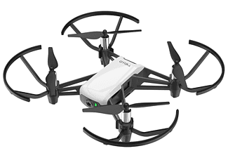 Mini drone - DJI Ryze TELLO, HD (720p), 5 MP, 8 m/s, Distancia 100 metros, Hasta 13 minutos, Blanco