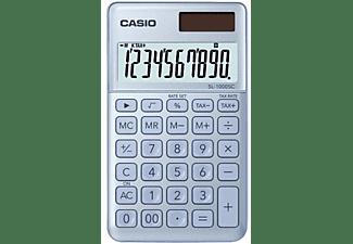 Calculadora - Casio SL-1000SC, Corrección rápida, Memoria, Azul