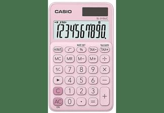 Calculadora - Casio SL-310UC, 10 dígitos, Rosa