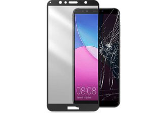 CELLULAR-LINE Huawei Y6 (2018) Screenprotecotr Tempered Glass Capsule Zwart