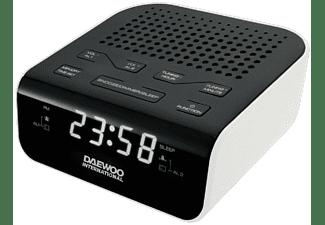 Radio despertador - Daewoo DCR-46, Blanco