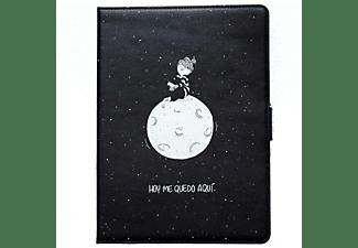 "Mr. Wonderful 8436557680396 10.1"" Folio Negro, Color blanco funda para tablet"