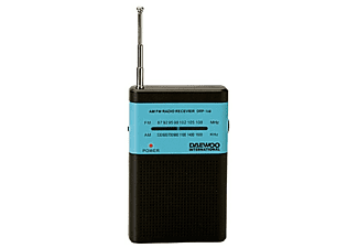 Radio portátil - Daewoo DRP-100B Negro, Sintonizador analógico AM/FM