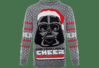 Jersey - Darth Vader, Star Wars, Talla S, Navidad, Gris