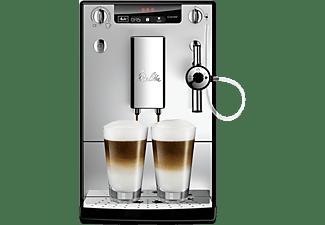 Cafetera superautomática - Melitta® Solo & Perfect Milk, Auto Capuchinador, Molinillo, 15 bar, Plata