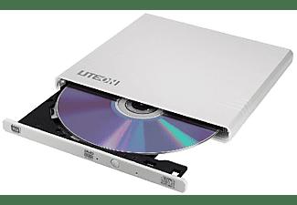 Grabadora de DVD - LiteOn eBAU108, Externa, Portátil, Blanca