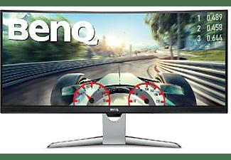 "Monitor gaming - BenQ EX3501R, 35"", Curvo, WQHD, HDR, HDMI, USB, Gris"