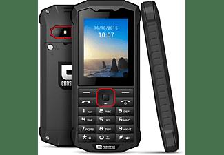 Móvil - Crosscal Spider X4, Bluetooth, 3G+, Doble Sim, Cámara 2.0 MP, Negro