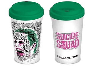 Taza de viaje - Pyramid International The Joker, Suicide Squad