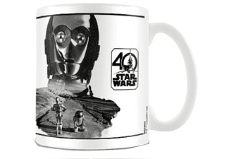 Taza - Sherwood, C-3PO, Star Wars 40th Anniversary